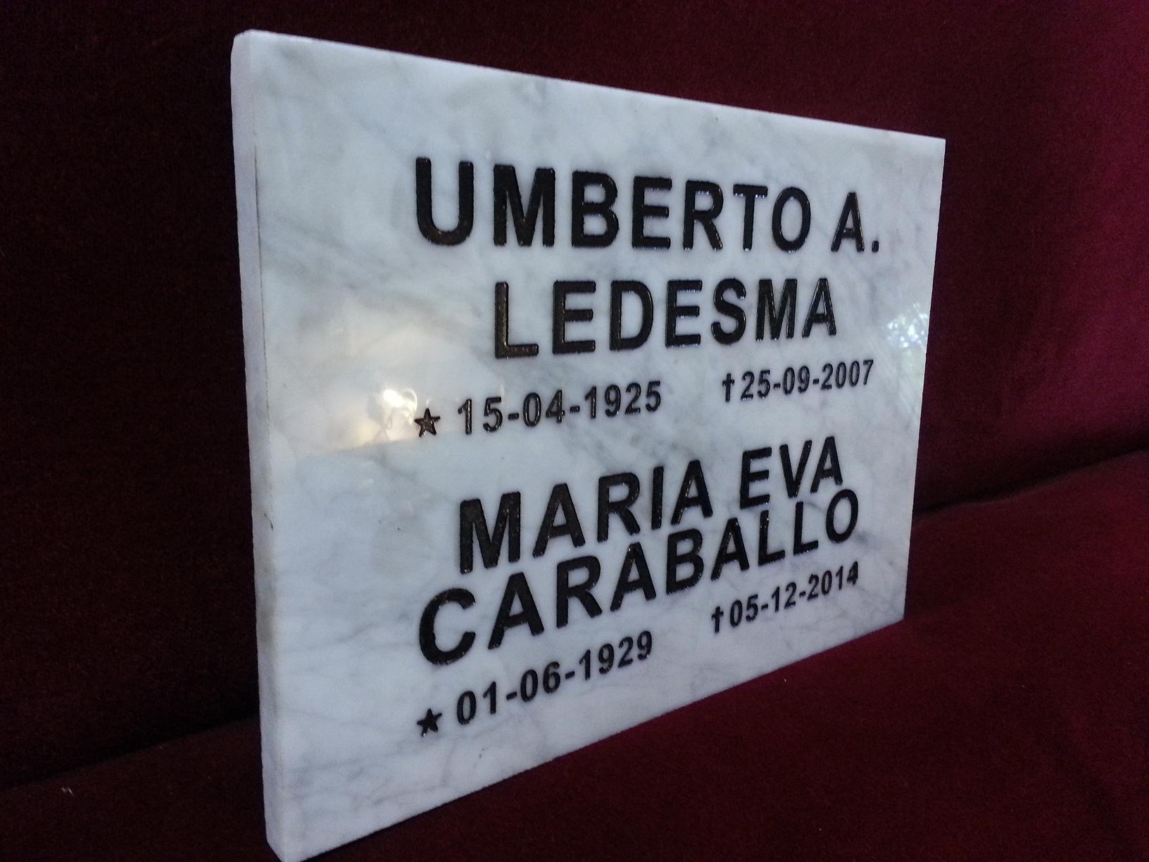 placas de marmol para cementerio grabados artisticos